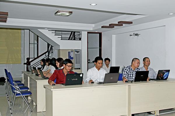 Quầy giao dịch khách hàng của Saigon Cook
