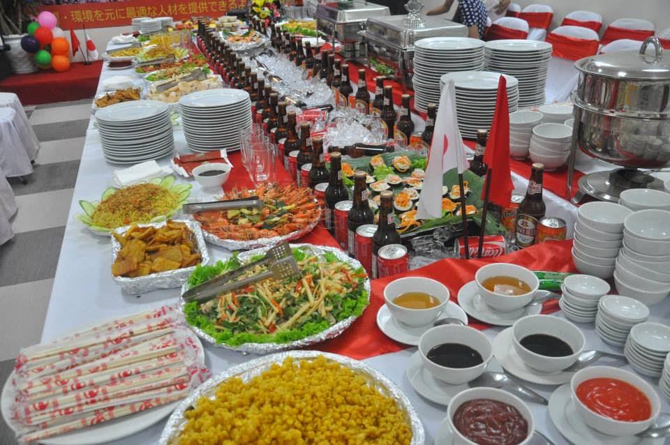 Dịch vụ đặt tiệc Buffet TP HCM